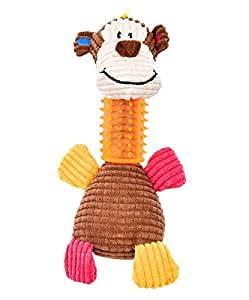 Plush Monkey The Best Chew Dog Toys Pet Toy for Chewers Small Dogs