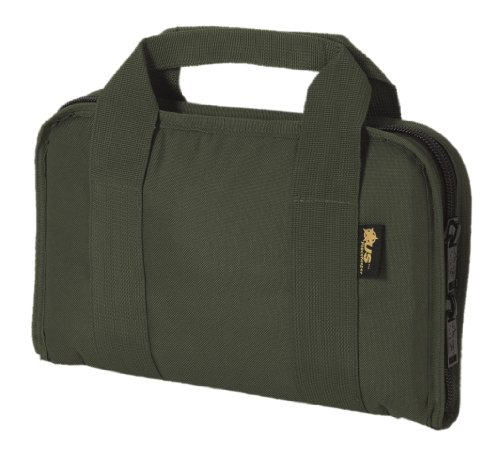 US PeaceKeeper P21107 Attache Gun Case (Olive Drab Green) (Rug Gun Pistol Case)