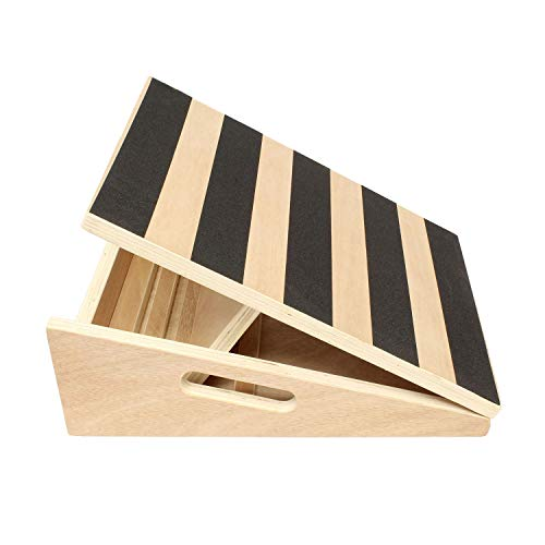 Get Out! | Calf Stretcher Slant Board for Stretching – Incline Board Calf Stretch Wedge Board, Calf Stretching Board