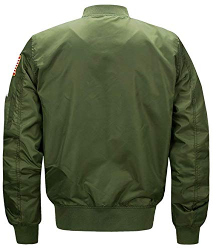 Hooded Hooded Jacket Down Sleeve grün Outerwear Warm Unique Long Mens Lightweight 2 Men Leisure armee Hoodie Jacket qf7zX5nw