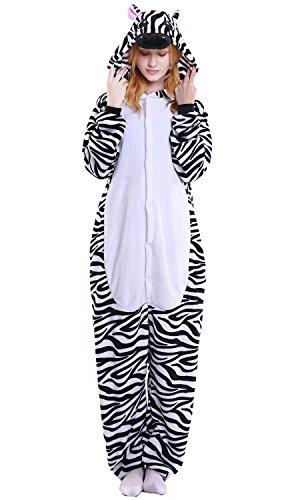 Costume Zebra Party Donna Natale Halloween Kigurumi Onesie Adulto Pigiama Uomo Dolamen Sleepwear Anime Cosplay Unisex Attrezzatura CwH7qxWWaZ