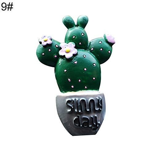 Artificial Lifelike Green Plants Decoration, Lovely Cactus Bread Tomato Car Air Vent Outlet Fragrance Perfume Clip Freshener - ()