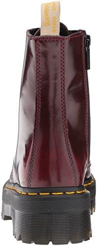 Adulto Basse 15265001 Red Scarpe Polished Stringate Brogue Jadon Dr Unisex – Martens Smooth UwqP0Bf