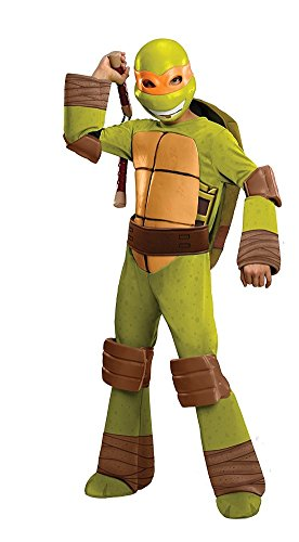 Teenage Mutant Ninja Turtles Deluxe Michelangelo Costume,