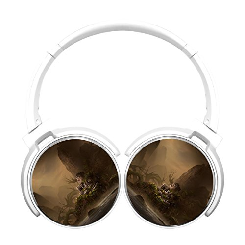 Stylish headphones headset earbuds earphone Noise-canceling Bluetooth Headphone Ghosts in the - Hours Valley Store Fashion