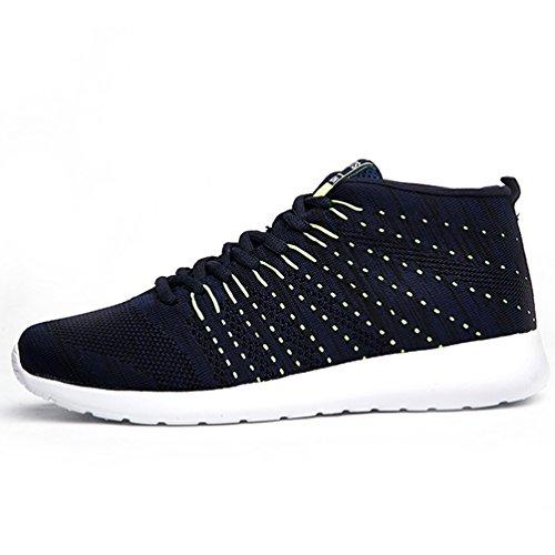 AFFINEST Mens Womens Fashion Sneakers athletische Outdoor-Sport-Wanderschuhe Blau-1