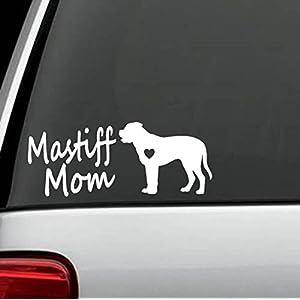 Bluegrass Decals E1053 Mastiff Mom Dog Breed Decal Sticker 2