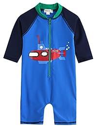 Vaenait Baby 0-24M Baby Boys Swimsuit Rashguard Swimwear Baby Submarine