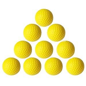 Practice Golf Balls,Smartlife15 Foam Sponge Soft Elastic Golf Balls, Indoor Outdoor Golf Training Aid Balls