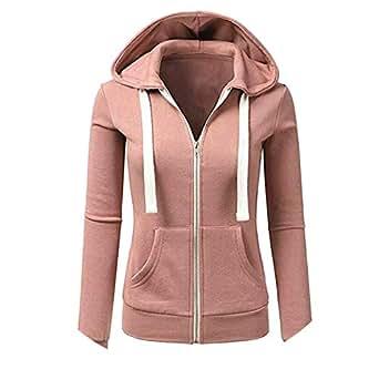 Dress-shop Jackets Jacket Women Zipper Pockets Hooded