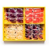 pate de fruit - HORI Hokkaido Fruit Jelly candy, Pate de fruits, 4 types of fruit