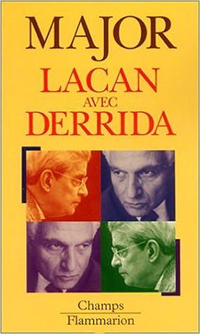 Livre gratuits Lacan avec Derrida pdf
