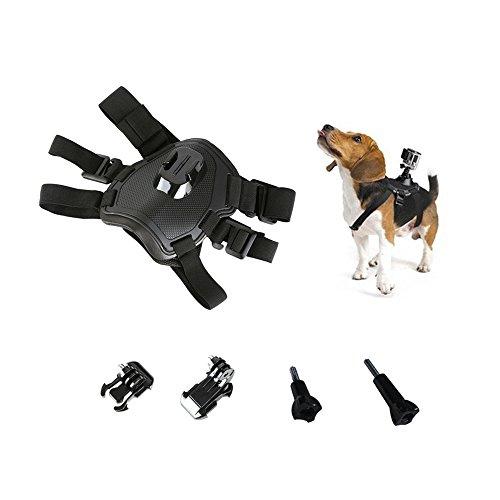 Pet Dog New Fetch Harness Adjustable Chest Strap Belt Mount For Camera Gopro Hero 5 4 3+ 3 2 SJ4000 SJ5000 SJ6000 SJ7000 Sports Camera Accessories by Hikity