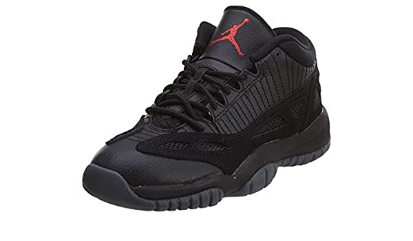 0cce461339df39 Amazon.com  Jordan Air XI (11) Retro Low (Kids) Black  Shoes