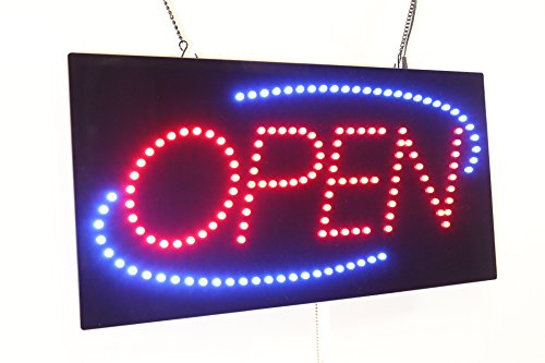 """Open Sign 24"""", Super Bright High Quality LED Open Sign, Store Sign, Business Sign, Window Sign"""