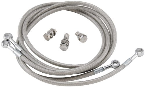 Streamline TRX450-2F Stainless Steel Braided Front Brake Line