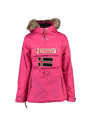 Geographical Mujer Rose Norway Fuschia Chaqueta f1TRwq0