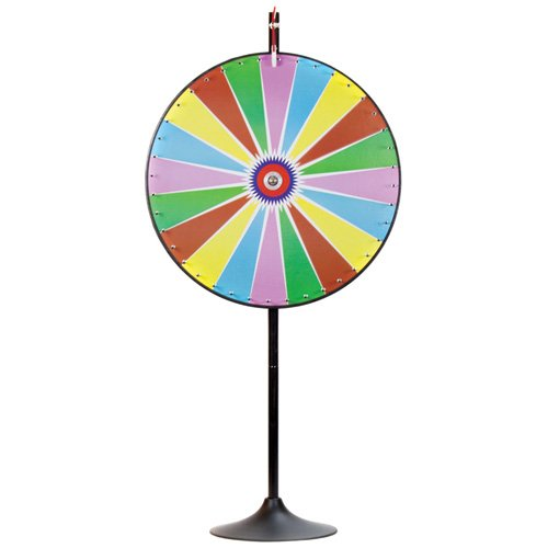 Deluxe 36'' Custom Dry Erase Prize Wheel with Extendable Base - Choose Type! by Brybelly