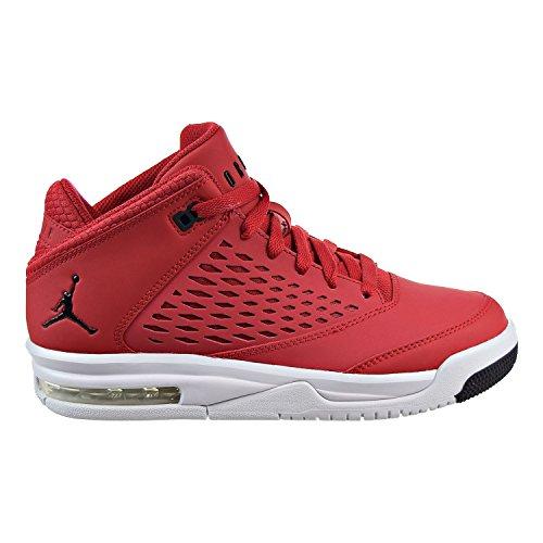 Jordan Flight Origin 4 (BG) Big Kids Shoes Gym Red/Black/Pure Platinum 921201-600 (7 M - Jordan 4 Red