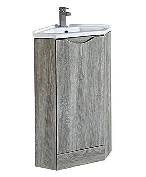 Seattle 1 Tür Badezimmer Ecke Waschkommode Schrank Und