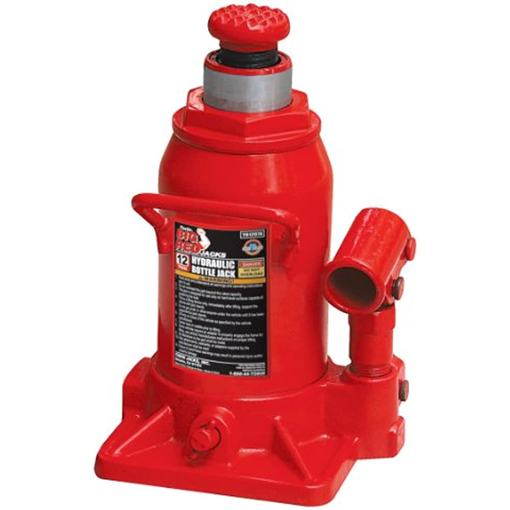 23ea2e44884 Details about Torin Big Red Hydraulic Stubby Bottle Jack