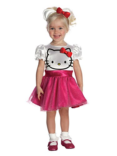[Rubie's hello kitty costume White] (Hello Kitty Child Costumes)