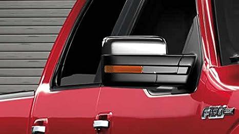 Razer Auto   Ford F Truck Triple Chrome Plated Top Half Mirror Cover Caps