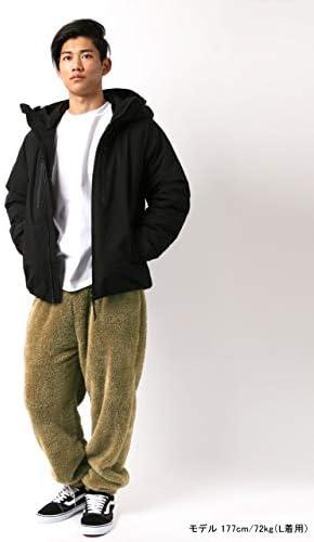 フリースパンツ メンズ ズボン ボア フリース 防寒 ルームウェア