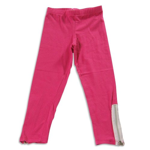 So Nikki Big Girls Zip Leg Capri