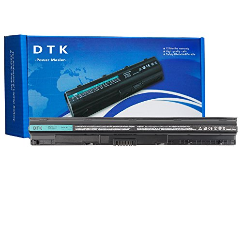 Dtk Laptop Battery M5Y1k Replacement for Dell Inspiron 14 3000 N3451 3551 5000/15 3000 3458 3451 5458/15 3000 5451 5455 3558 5551 5555 5558 5758 ; Vostro 3458 3558 [14.8V 2400MAH] ()