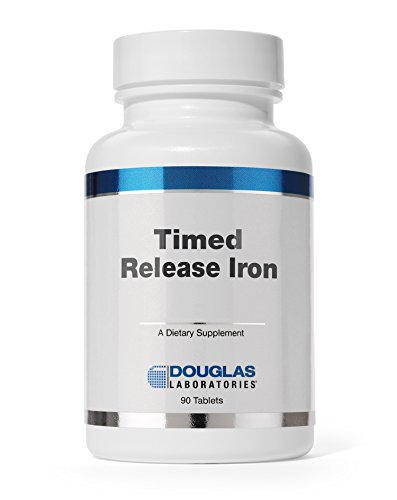 Douglas Laboratories® - Timed Released Iron - Helps Support Anemia, Lethargy, Tiredness, Red Blood Cell Production and Oxygenation* - 90 (Anemia Support)