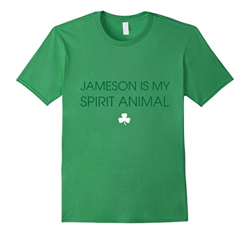 mens-spirit-animal-t-shirt-jameson-is-my-spirit-animal-large-grass