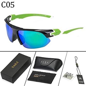 Gafas Deportivas Hombre,Gafas,de Sol polarizadas Cycling Sports Sunglasses,Windshield: Amazon.es: Deportes y aire libre