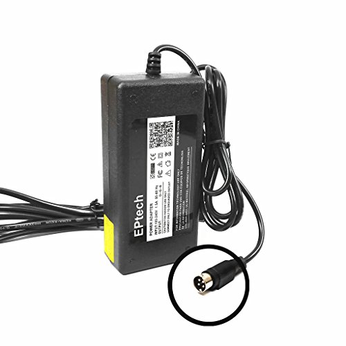New 4-Pin 12V AC/DC Adapter for Samsung SDE-120N SDE120N 4 Channel DVR Security Video Recorder, Sino-American SA60-12V 12VDC Power Supply Cord Cable Charger 4 Prong Mains PSU