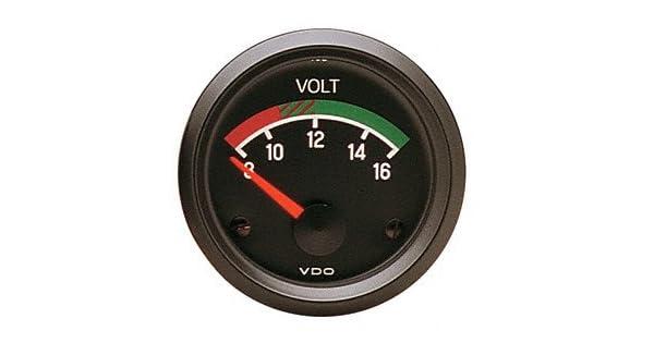 VDO Voltmeter 12volt 2 1//16d