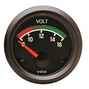 VDO 332-041D Voltmeter 12volt 2 1/16d