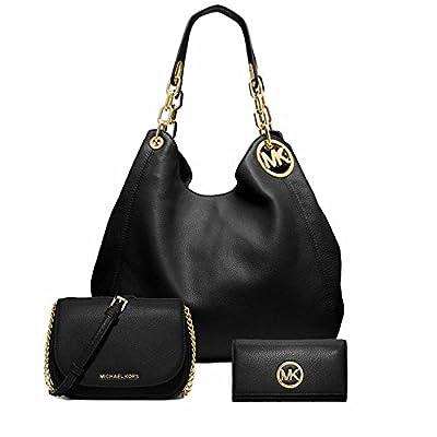 Michael Kors Large Leather Shoulder Bag Bedford Small Crossbody bag Fulton Carryall Wallet