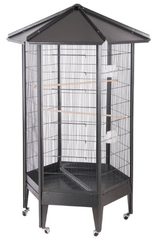 Hq Parrot Cages (BirdsComfort HQ Large Parrot Aviary Cage 36