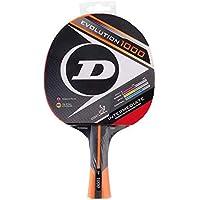 Dunlop Evolution 1000 Table Tennis Racket, Red/Black