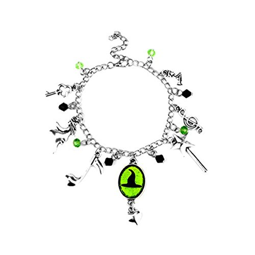 US FAMILY Wicked Musical Theme Multi Charms Jewelry Bracelets Charm by Family Brands