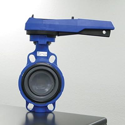 "4"" PVC 563 Aqua Butterfly Valve w/EPDM Seals by Georg Fischer"