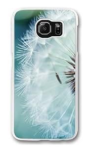 Dandelion Flower Custom Samsung Galaxy S6/Samsung S6 Case Cover Polycarbonate Transparent