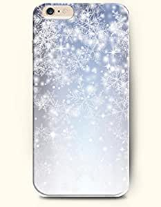 OOFIT New Apple iPhone 6 ( 4.7 Inches) Hard Case Cover - Dreamy World - Glistening Beautiful Snowflake