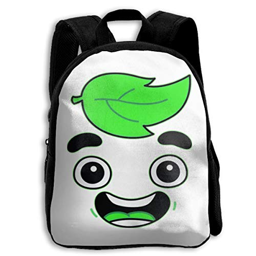 USDASDAISN School Backpack Guava Juice Youtuber Children's Full Print Shoulder Bag Without Pocket