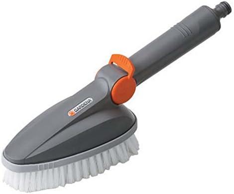 Escobillón manual GARDENA: cepillo de limpieza Cleansystem, para la limpieza profunda de los muebles del jardín (5572-20): Amazon.es: Bricolaje y herramientas