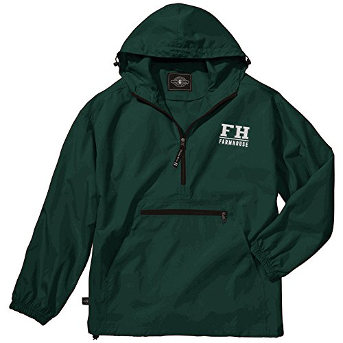 (Farmhouse Pack-N-Go Pullover 2X-Large Forest Green)