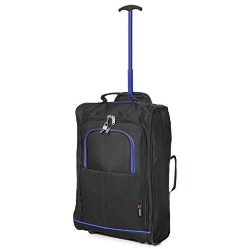 Trolley Ryanair negro Maleta azul 55x40x20 Aprobado Negro Cabina 35x20x20 Y Negro w6xq6TS1Y