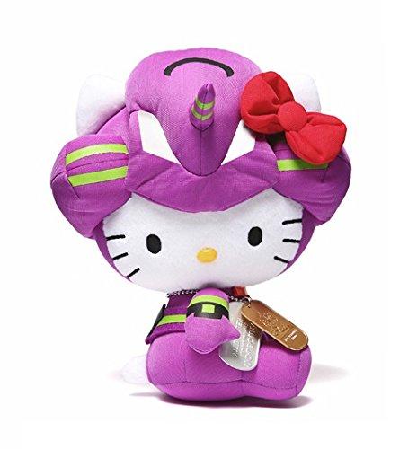 cb0dbf30d Amazon.com: Evangelion Unit-01 x HELLO KITTY Plush Doll [Japan ...