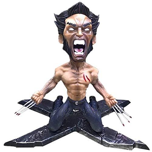 VIET FG 17Cm X-Men Wolverine Battle Ver Figurine Dolls Toys PVC Super Hero Wolverine Action Figure Collectible Model Toy Gift -Complete Series Merchandise