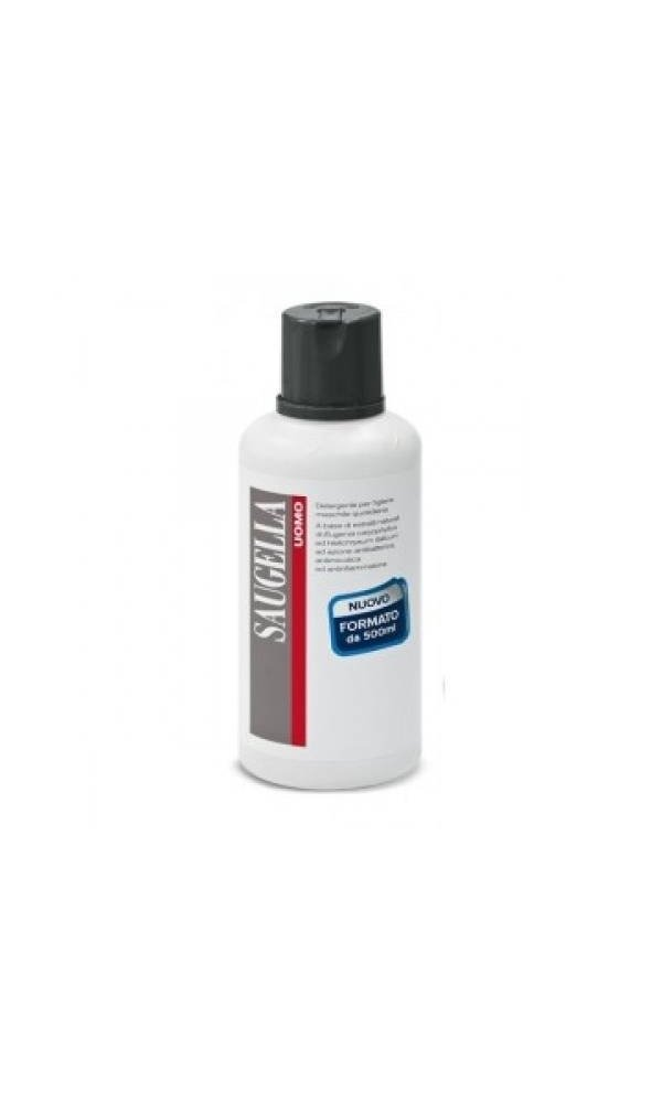 uomo detergente intimo maschile ph 5.5 flacone500 ml SAUGELLA